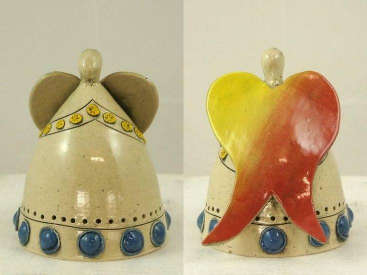 Engel van Elza van Dijk, Pretoria Zuid Afrika. design, fairtrade, eerlijk, mooi, kado, cadeau, geschenk, exclusief, Zuid Afrika, aardewerk, ceramics, decoratie, kaars, waxine