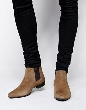ASOS Chelsea Boots in Suede - Pricey but aspirations for the future bank account...