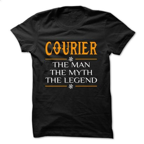 The Legen Courier ... - 0399 Cool Job Shirt ! - #custom sweatshirts #zip up hoodies. MORE INFO => https://www.sunfrog.com/LifeStyle/The-Legen-Courier--0399-Cool-Job-Shirt-.html?60505