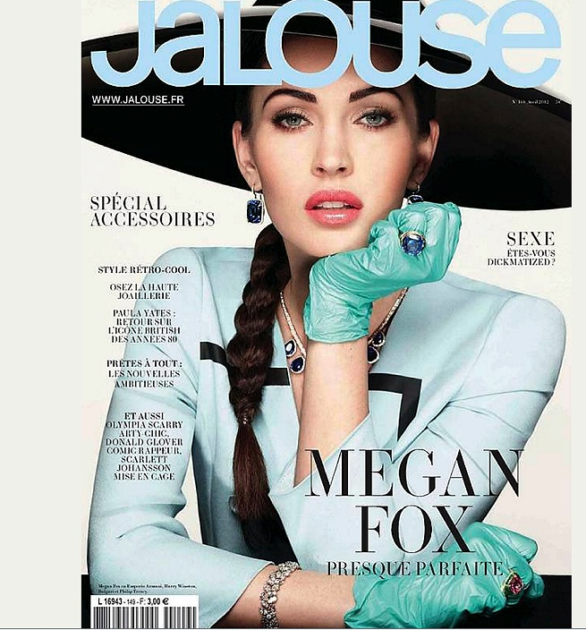 Megan Fox for french Jalouse, april 2012
