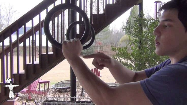 How to get a false grip on gymnastic rings (Tutorial)