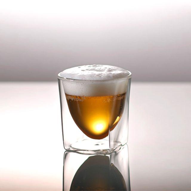 ダブルウォールグラス Rayes レイエス 本店直販サイト Rds 004 200ml 焼き付け名入れオプション対応 ビールグラス 焼き付け レイエス