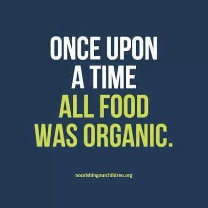 Once upon a time all food was organic. What changed? Most foods now days are processed and pumped with chemicals. We need to get back to our roots and start eating like our grandparents. Just eat real food. – I Quit Sugar