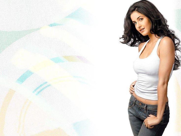 Katrina in white vest