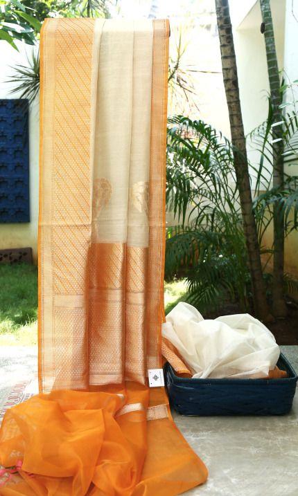 Benares Linen Kora L03220 | Lakshmi