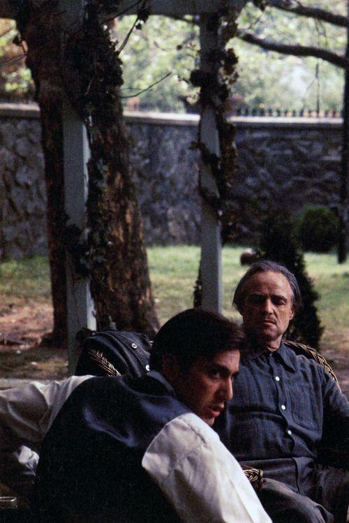 Al Pacino and Marlon BrandoThe Godfather | 1972