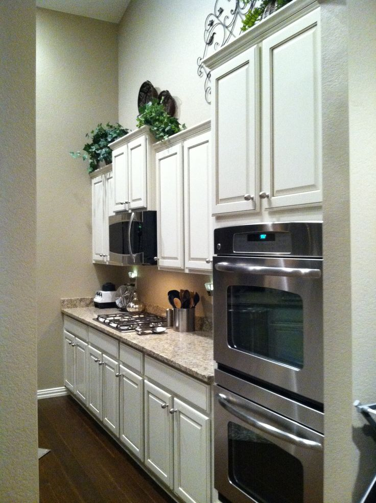 Double Oven With Microwave Over The Cooktop Home