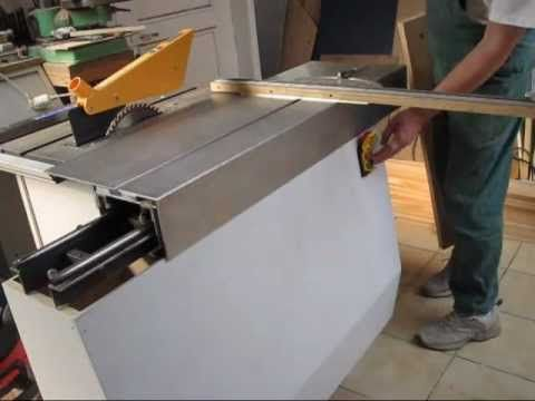 DIY sliding table panel saw