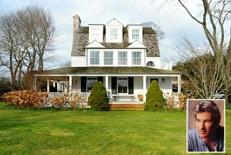Richard Gere's House in the Hamptons 2009