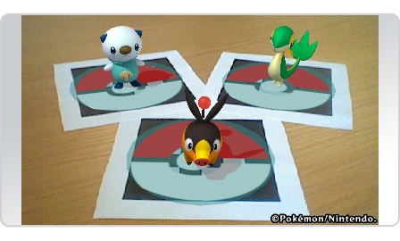 Snivy, Tepig, and Oshowatt!
