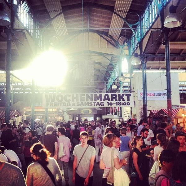 Markthalle 9, Food-Court in Berlin