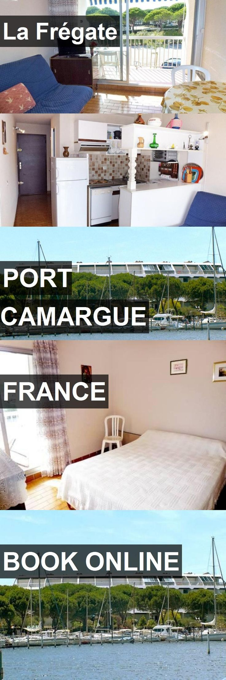 Hotel La Frégate in Port Camargue, France. For more information, photos, reviews and best prices please follow the link. #France #PortCamargue #travel #vacation #hotel