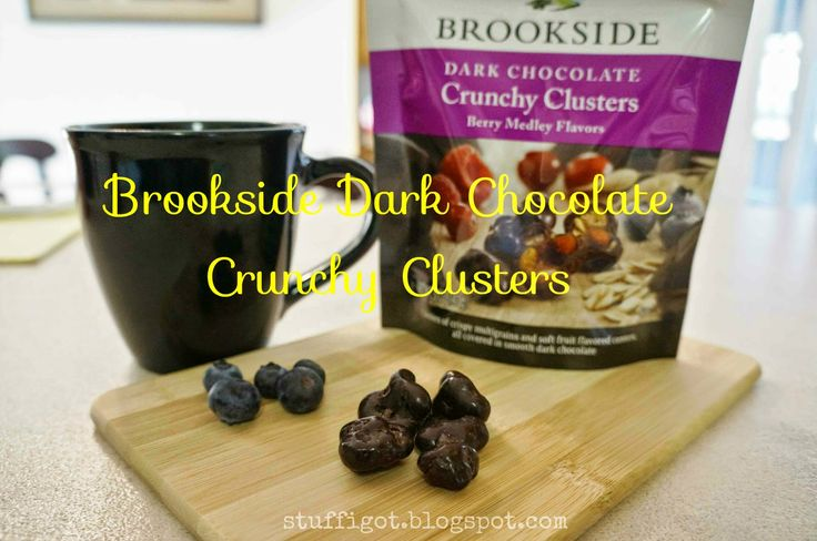 Brookside Dark Chocolate Crunchy Clusters Review #DiscoverBrookside