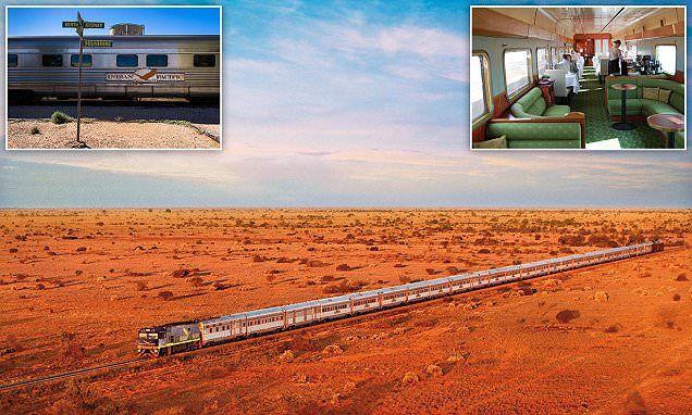 Tourists can travel across Australia in one astonishing rail journey