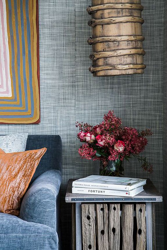 Interior Designer Marylou Sobel Featured Driftwood 6206 Heather Grey In The Living Room Of A Clients