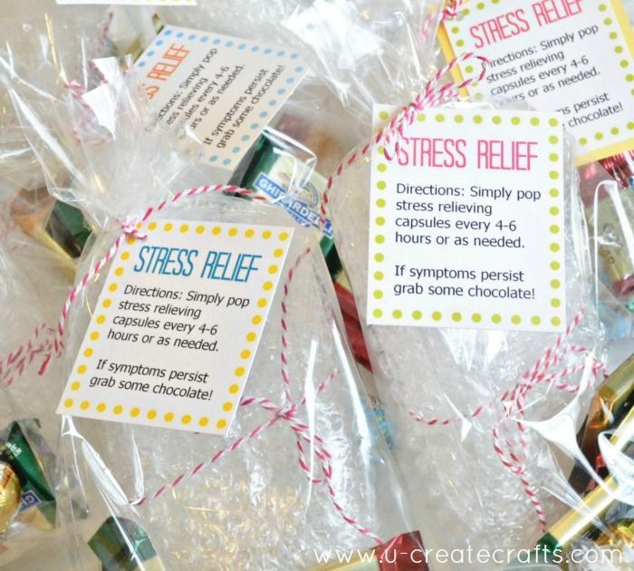 Brighten Someone's Day with this Simple Stress Relief Gift...free download, too!