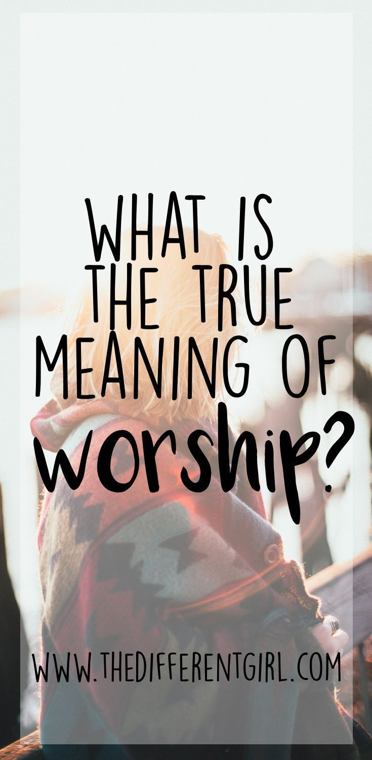 How to change your view on Worship?   Christ-Centered