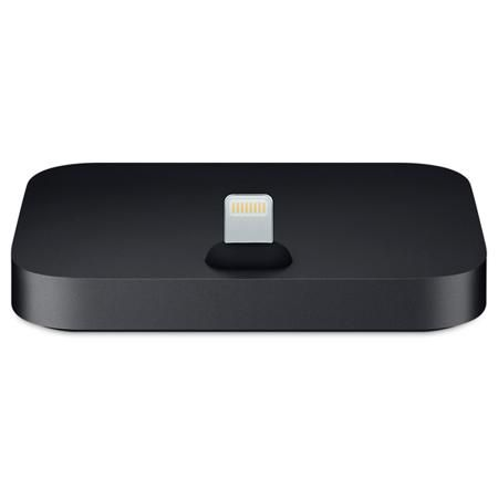 Apple iPhone Lightning Dock Black (MNN62ZM/A)  — 3990 руб. —  Кабель USB: доп.опция, Док станция д/смартфона: iPod, iPhone 5/ 6/ 7 поколения, Зарядка от сети 220 В: Да, Цвет: черный, Разъем для наушников 3.5 мм: 1 шт, Вес: 70 г, Блок питания: доп.опция, Страна: КНР, Зарядка от USB порта: Да, Материал корпуса: пластик, Разъем Lightning: 1