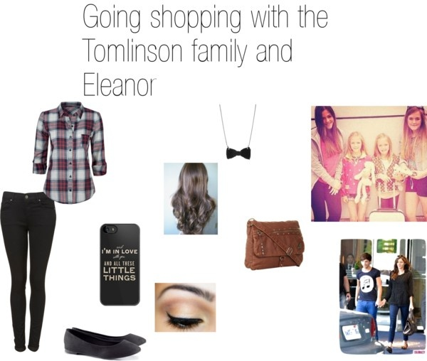 """Going shopping with the Tomlinson family and Eleanor"" by estefanianaya ❤ liked on Polyvore"