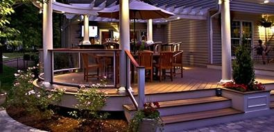 DecksDecks Ideas, Hills Landscapes, Backyards Decks, Deck Design, Decks Design, Walnut Hills, Landscapes Company, Outdoor Decks, Dining Decks