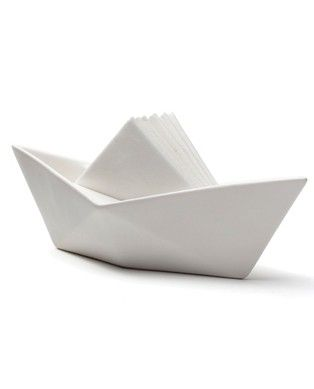 Sailboat Napkin Holder - how clever!