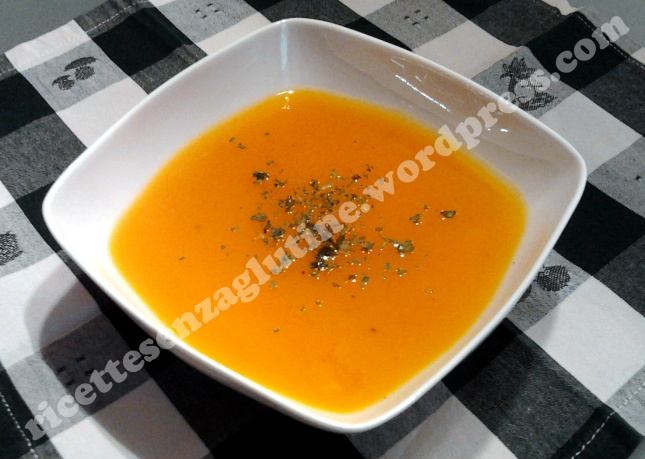 #Pumpkin veloutè. #Gluten-free. #Vellutata di #zucca delica naturalmente senza…