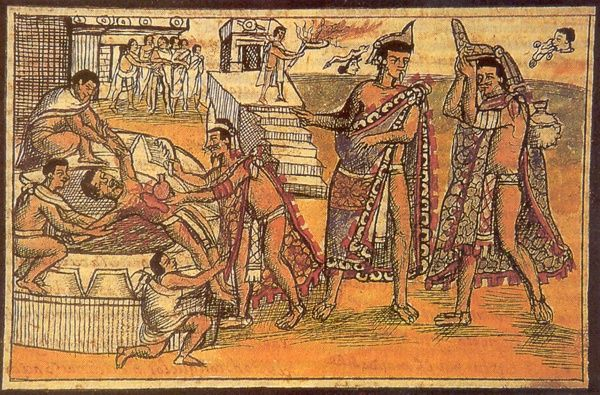 Some historians believe the sacrifices and cannibalism may ...