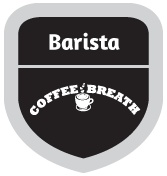 Barista @CoffeeBreathID: Hi! You've just become the 'Barista' at Coffee Breath! Come back often to upgrade your badge! | Coffee Breath! A taste and cozy ambience that you never forget. Info: (021) 33986969 / @CoffeeBreathID