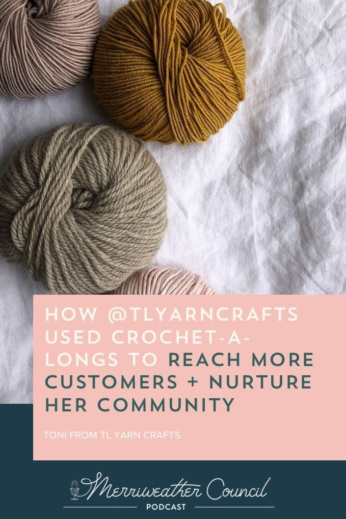 How To Reach More Customers Themerriweather Council Blog In 2020 Tl Yarn Crafts Crochet Business Handmade Business