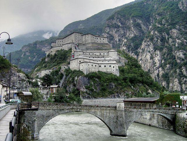 Forte di Bard, Valle d'Aosta, Italy