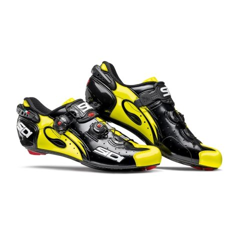 SIDI Sidi Wire Carbon Venice Road Cycling Shoes - 2017 - Black / Yellow Fluo / EU44  #CyclingBargains #DealFinder #Bike #BikeBargains #Fitness Visit our web site to find the best Cycling Bargains from over 450,000 searchable products from all the top Stores, we are also on Facebook, Twitter & have an App on the Google Android, Apple & Amazon.