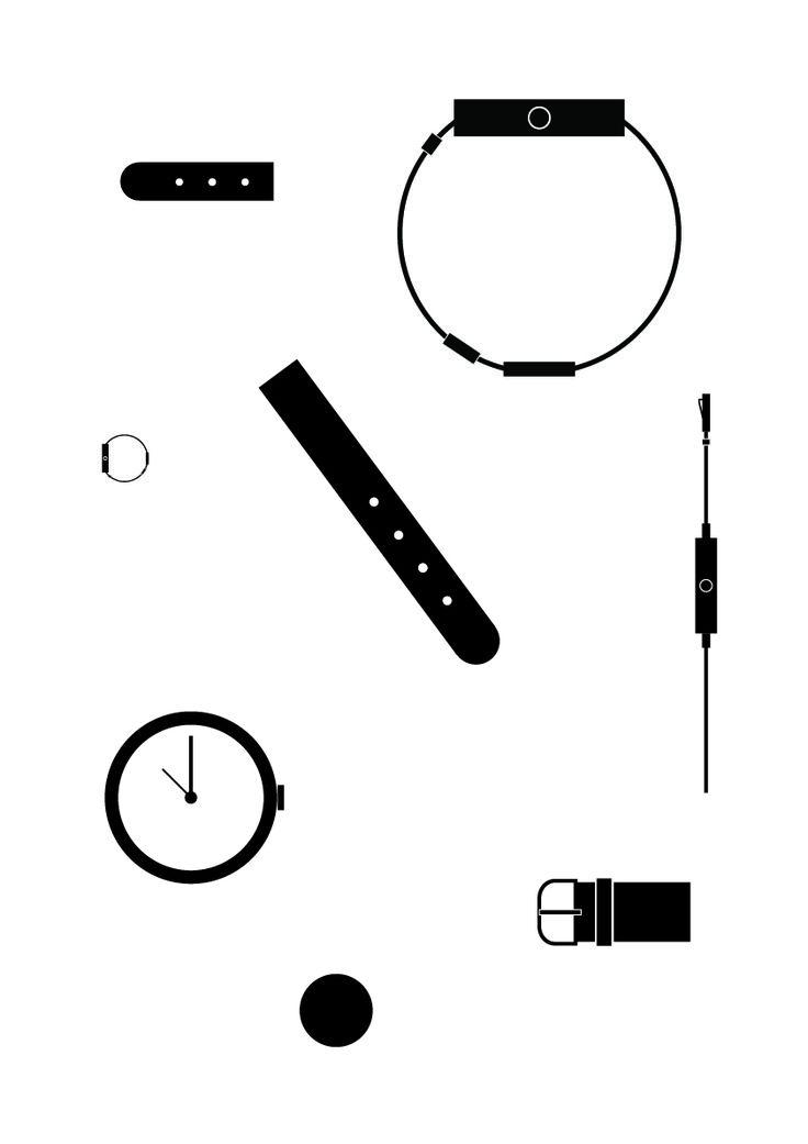 composition, clocks, design _2015 by su jin kim