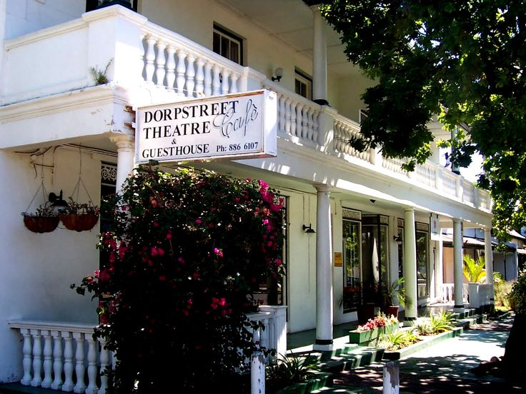Dorpstreet Theater Cafe in Stollenbosch, South Africa