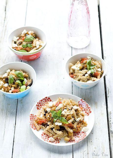 Gyors, sült padlizsános tészta | Dolce Vita Blog
