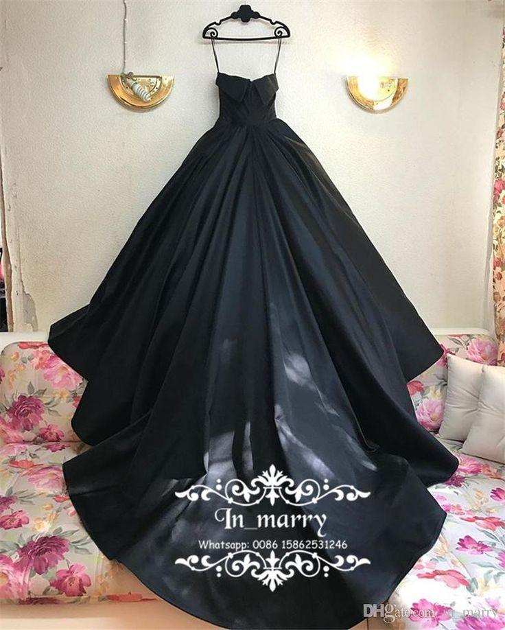 Gothic Black Design Ball Gown Wedding Dresses 2017 Michael Cinco Sweetheart Plus Size Arabic Dubai Country Wedding Dresses Vestido De Novia Ball Gown Wedding Dresses Bargain Bridal Gowns by In_marry, & Price; i dhgate.co