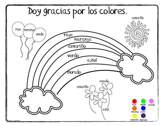 giving thanks (doy gracias) coloring page  printable