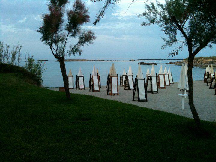 Lido LA CASTELLANA 73028 – Otranto / (baie de sable) (près du phare de la pointe)