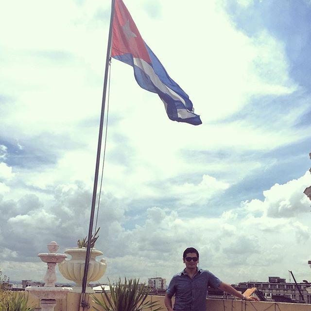 #Habana #Cuba #Bandera #Caribbean #Sky #Flag #CubanFlag #Isla by edensotoalva