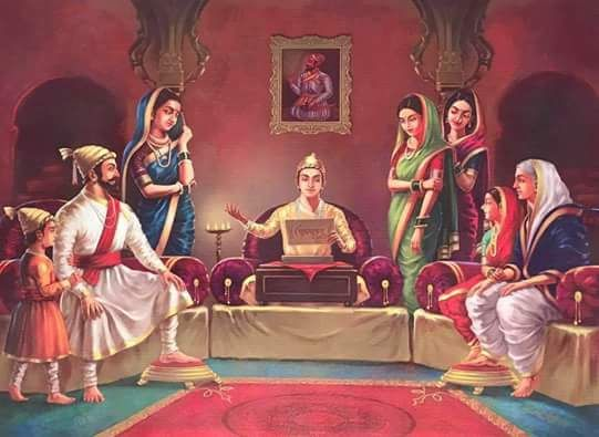 Royal family of King Shivaji