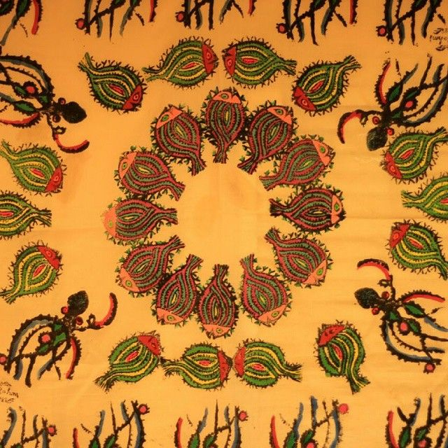 #beautiful #anatolia Anadolu'dan Ilham Kaynaklari : Bedri Rahmi Eyüboğlu yazma motifi... #pattern #bedrirahmi #turkishpainter #anatoliangirls