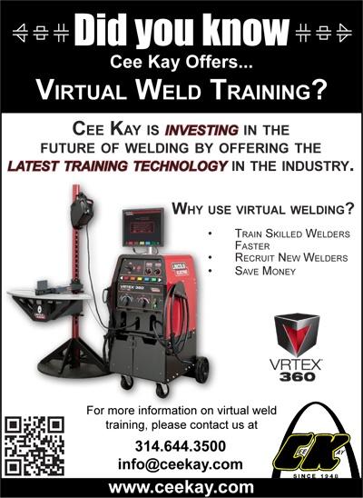 Virtual Welding, training | Cee Kay St. Louis