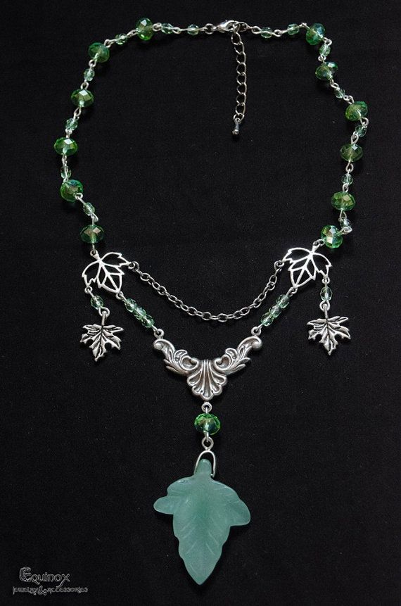 Evelyn  fantasy necklace by VictoriaEquinox on Etsy