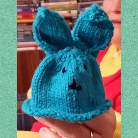 A little bunny egg cosy :)