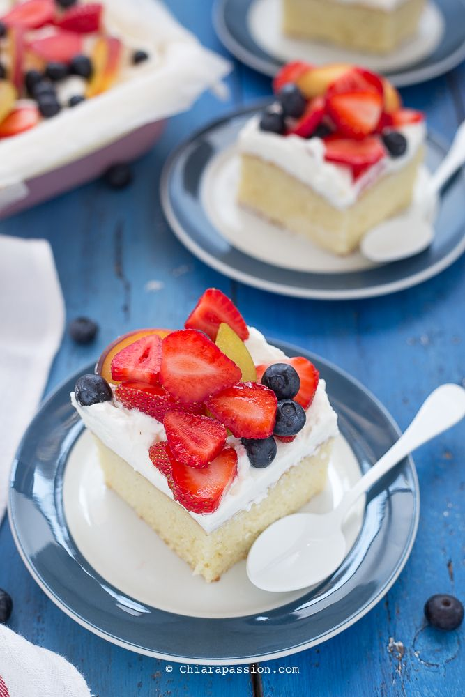 Torta Tres Leches (torta al latte messicana) una torta facile e buonissima dalla consistenza SCIOGLIEVOLE- Chiarapassion
