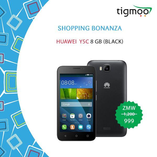 Order for #HuaweiY5C 8GB in Black color on special #Saleprice of ZMW 990 #HuaweiMobiles #ShoppingBonanza #TigmooSale https://www.tigmoo.com/huawei-y5c-8-gb-black.html