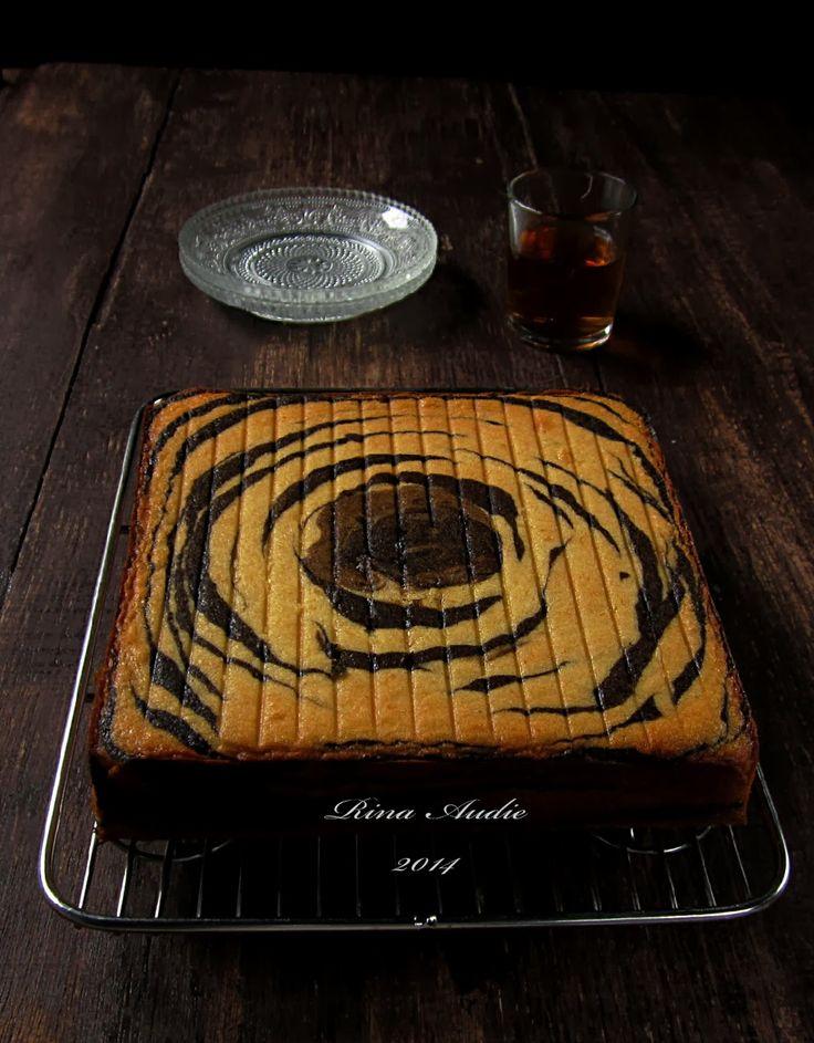 D a p u r M a n i s: Cake Zebra Tape Keju