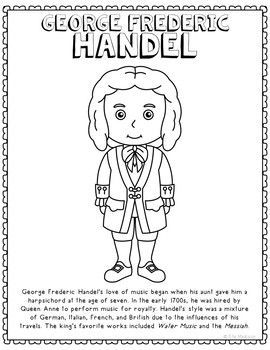 handel coloring pages - photo#4