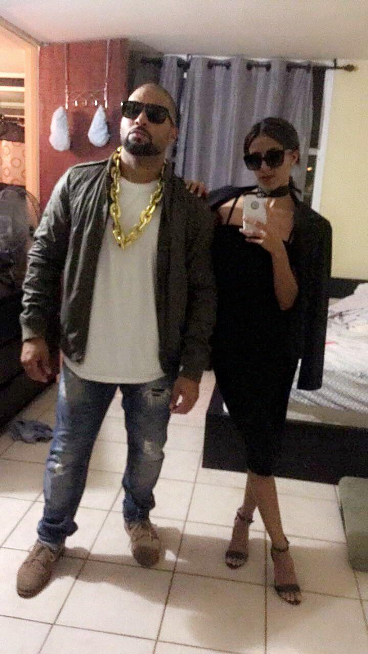 Kim kardashian and kanye west halloween costume