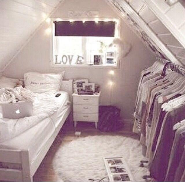 25 Attic Room Ideas R O O M Attic Bedroom Closets