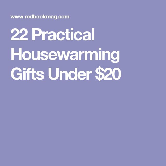 22 Practical Housewarming Gifts Under $20
